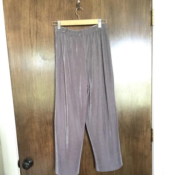 Pants - Pleat Wide Leg Pants
